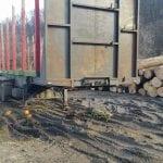 10 metri cubi de lemne fără acte legale la Bistra