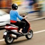 Minor din Lunca Mureșului, prins fără permis pe moped