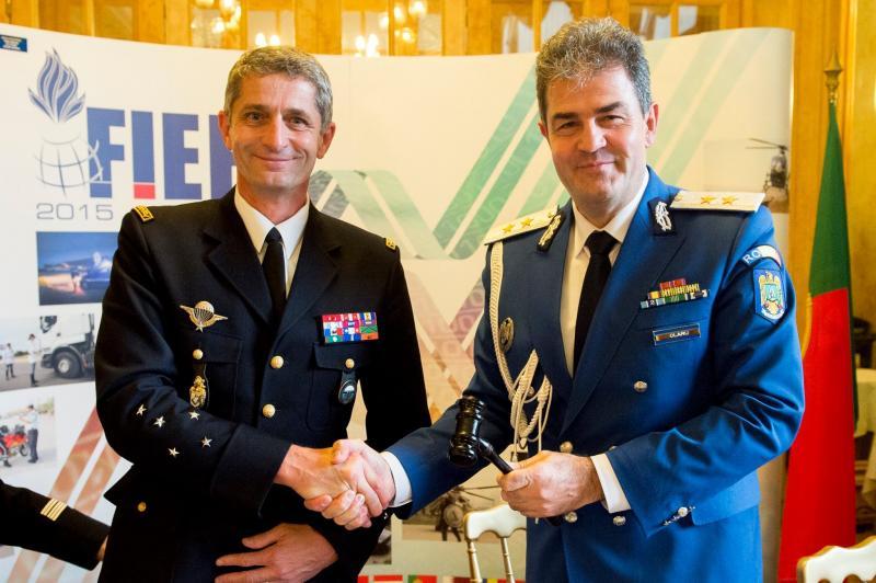 La Paris, România a preluat preşedinţia Asociației Forţelor de Poliţie  şi Jandarmerie Europene şi Mediteraneene cu Statut Militar. Comunicat