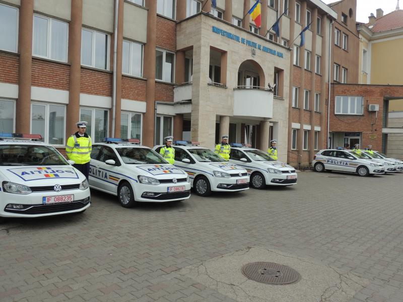 Șapte Polo noi pentru polițiștii din Alba. Comunicat.