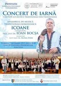 Ioan Bocsa afis  ALBA FINAL