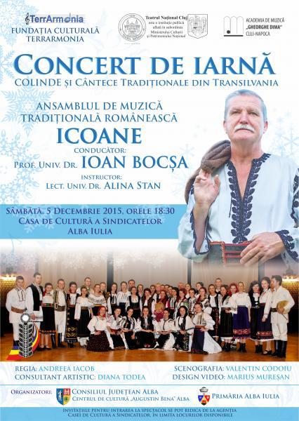 Concert de Iarnă, cu Ioan Bocșa