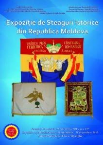 afis  expozitie de steaguri istorice