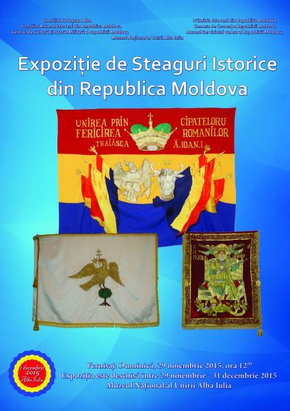 Steagurile lui Ștefan cel Mare la Muzeul Unirii