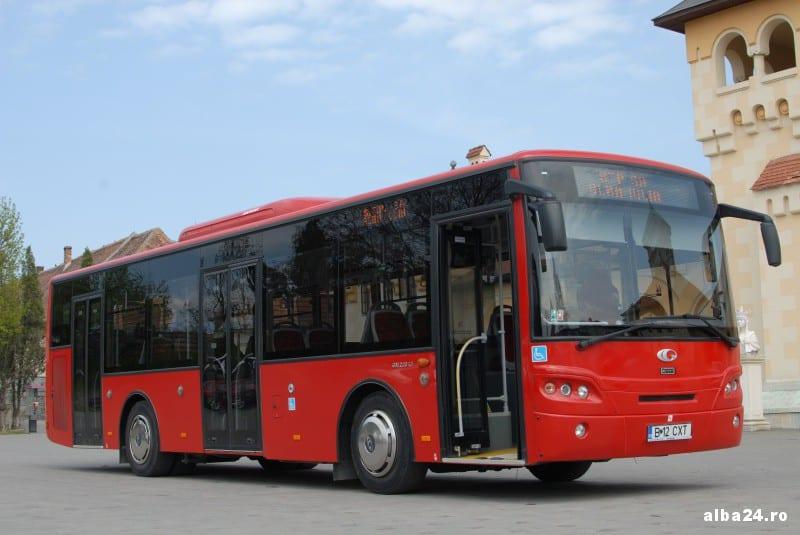 Programul de circulație al STP SA Alba Iulia în perioada 28.11.2015-02.12.2015  și valabilitatea biletului de autobuz în data de 1 Decembrie 2015. Comunicat.