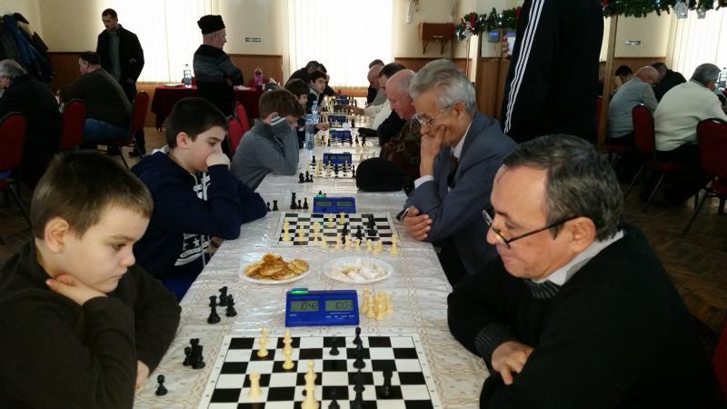 Final de an competițional la șah. Openul Orașului Teiuș.