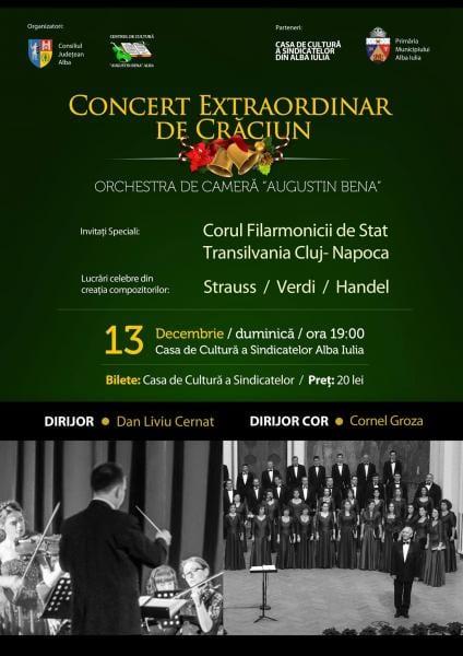 Concert Extraordinar de Crăciun la Casa de Cultură a Sindicatelor