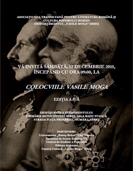 Colocviile Vasile Moga, la ediţia a II-a