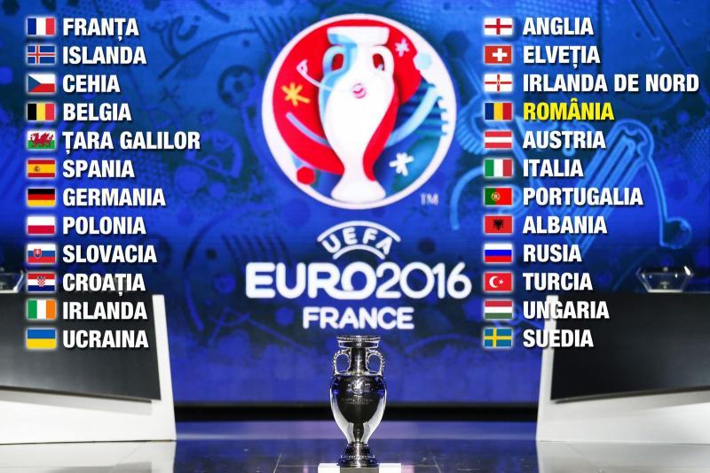 AZI aflăm cu cine suntem în grupe la Euro 2016!