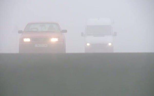 Cod galben de ceață pentru jumătate din țară!