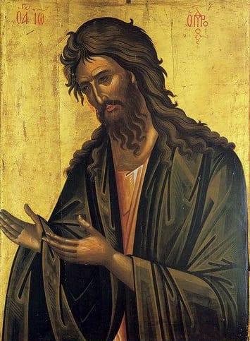 Praznicul Sfântului Ioan Botezătorul, cea de a treia mare sărătoare de la începutul anului.