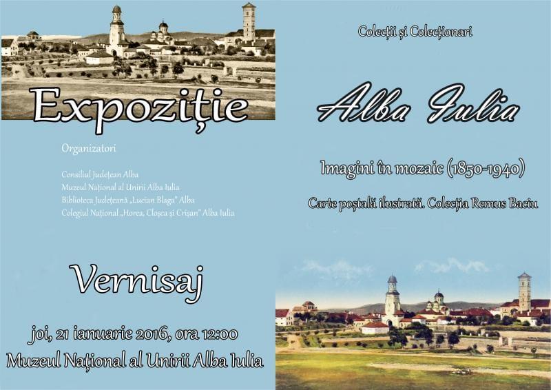 Alba Iulia. Imagini în mozaic (1850-1940). Carte poştală ilustrată. Colecţia Remus Baciu