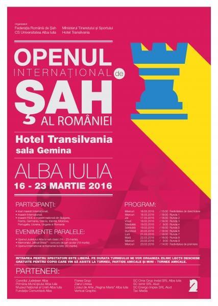 Openul Județului Alba la șah rapid