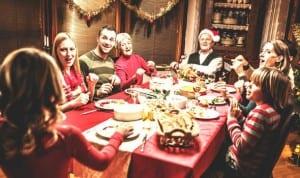 Family Christmas season relatives