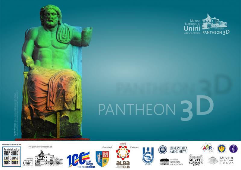 PANTHEON 3D valorificarea interdisciplinară a operelor de artă romană reprezentând zeități și personaje mitologice din colecția Muzeului Național al Unirii Alba Iulia