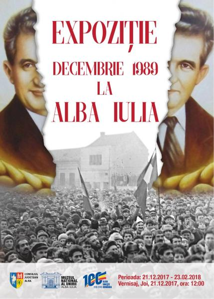 """JOI: Expoziția """"Decembrie 1989 la Alba Iulia"""" vernisată la muzeu"""