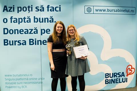 Câștigătorii Campionatului de Bine au fost premiați de Bursa Binelui