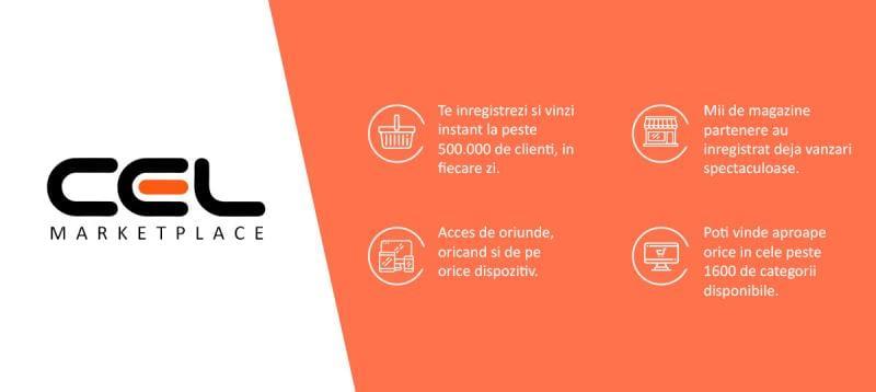 CEL.ro lansează Marketplace