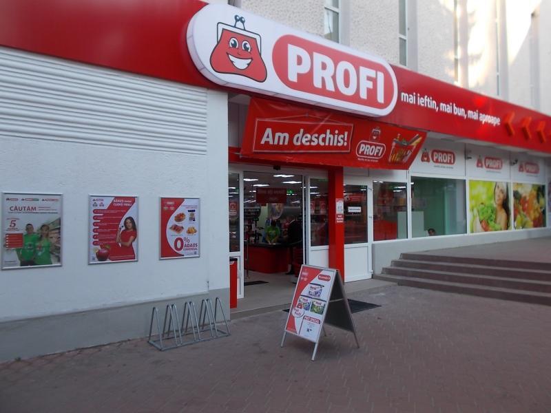 """Magazinul """"Profi"""" din Sebeș, călcat de hoți"""