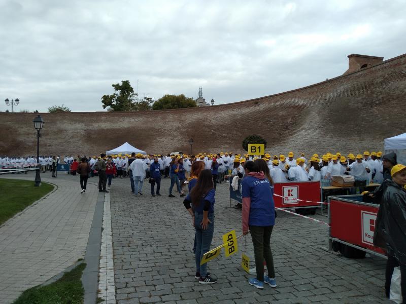 Pregătiri de record mondial la Alba Iulia (foto)