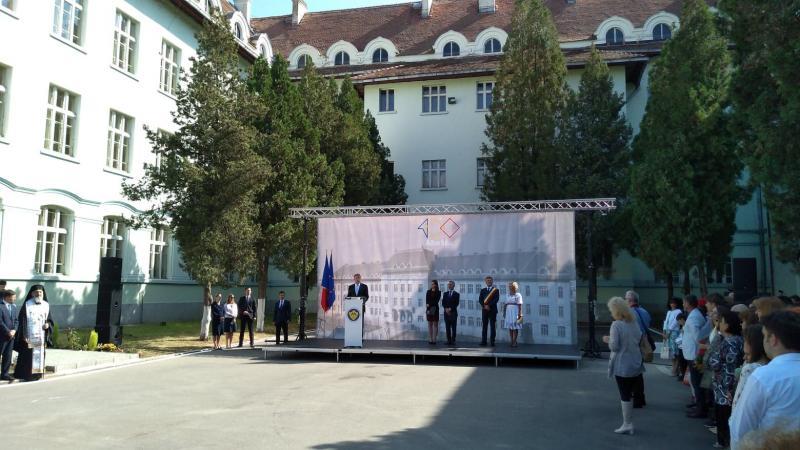 Video: Președintele Klaus Iohannis a inaungurat noul an școlar la Alba Iulia