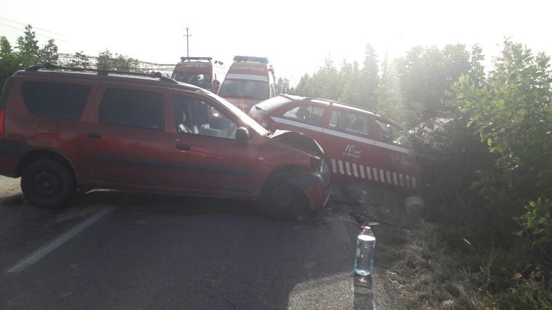 Coliziune între trei mașini pe DN1, Între Teiuș și Aiud