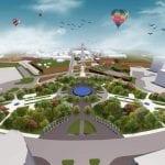 Cum va arăta Parcul Unirii din Alba Iulia