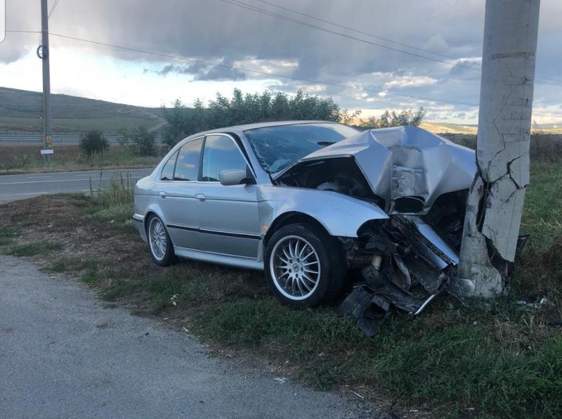 FOTO: Accident la Sebeș Răhău.