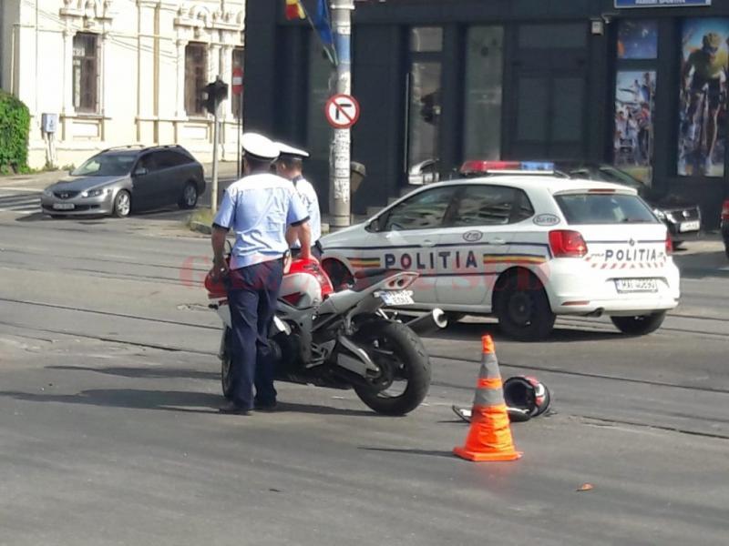 Motociclist prins băut și fără permis la Abrud
