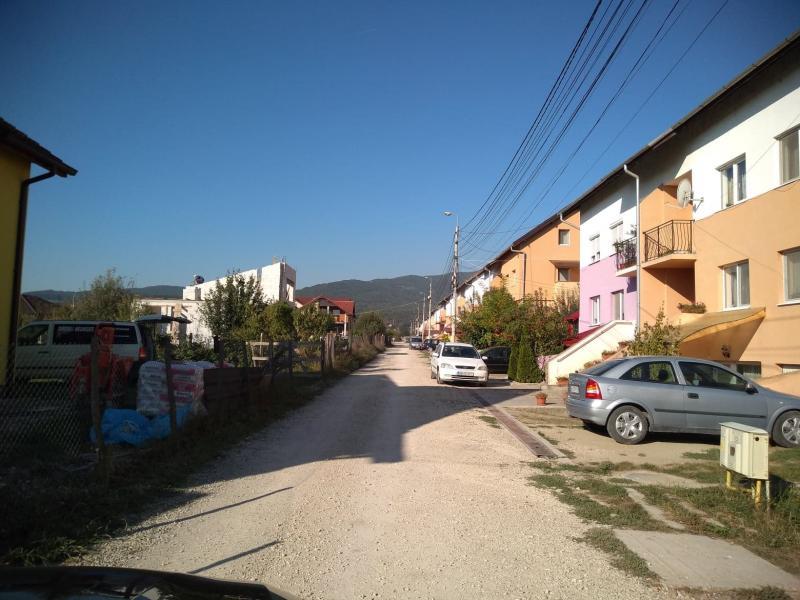 Strada Abrudului din Alba Iulia, praf și pulbere (foto)+(video)