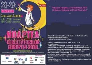 """""""Noaptea Cercetătorilor Europeni"""", în weekend la Alba Iulia"""