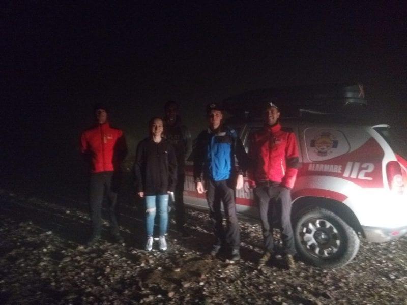 Acțiune de recuperare a doi turiști rătăciți pe munte