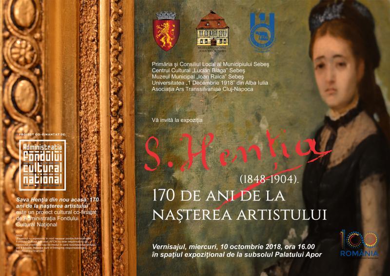 Expoziţie aniversară de pictură în memoria artistului Sava Henţia