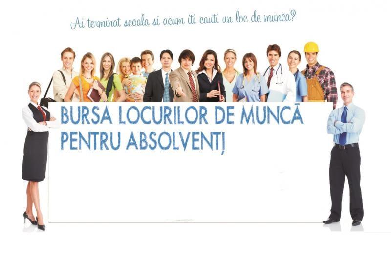 Bursa locurilor de muncă pentru absolvenţi, vineri 19 octombrie, la Alba Iulia