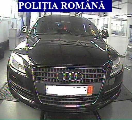 """Bărbat din Șibot, prins în Cugir cu o mașină """"ciordită"""" din Germania"""