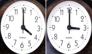 Pregătiți-vă ceasuril Duminică, 28 octombrie vom trece la ora de iarnă