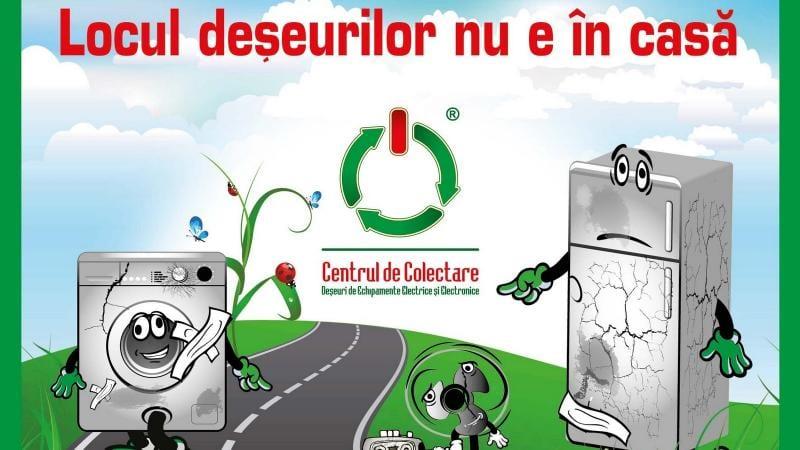 Campanie de colectare a deșeurilor electrice la Alba Iulia