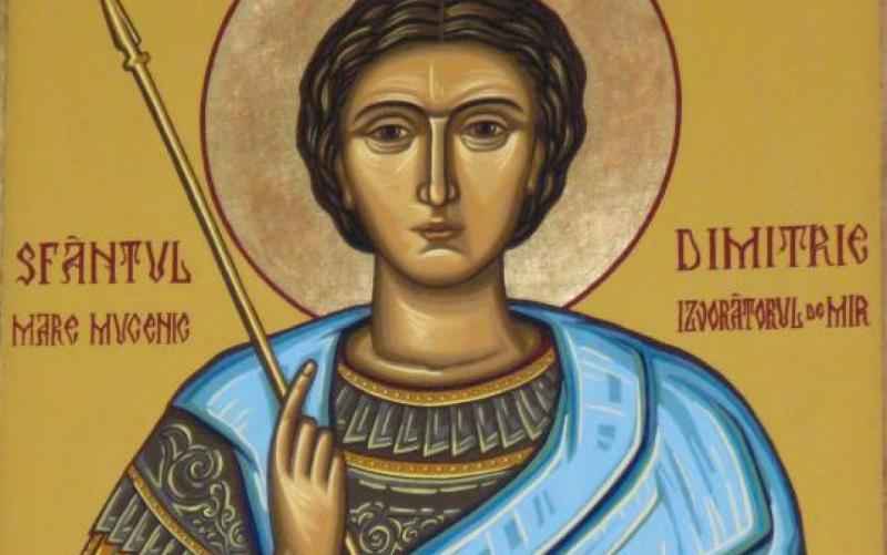 Praznicul Sf. Mare Mucenic Dimitrie, Izvorâtorul de mir. Tradiții, obicieiuri, superstiții