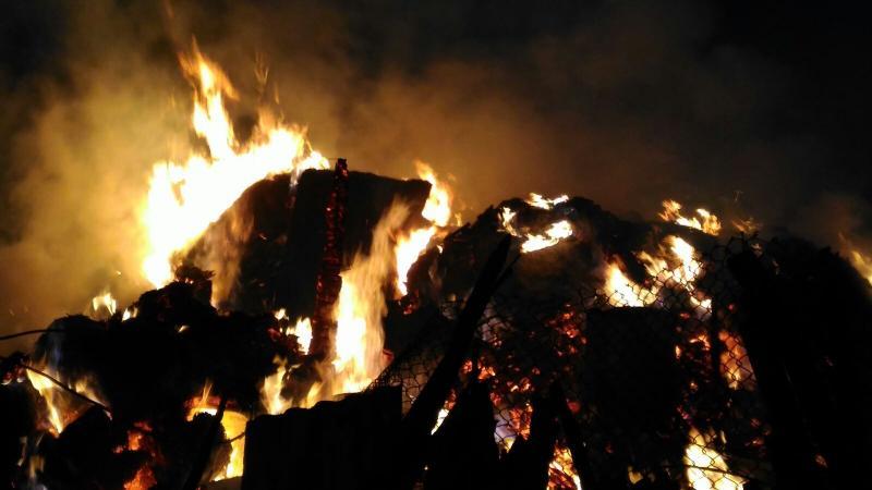 Incendiu la o bucătărie de vară din Vadu Moților
