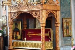 Racla cu moaștele Sfântului Cuvios Grigorie Decapolitul ajunge azi la Alba Iulia