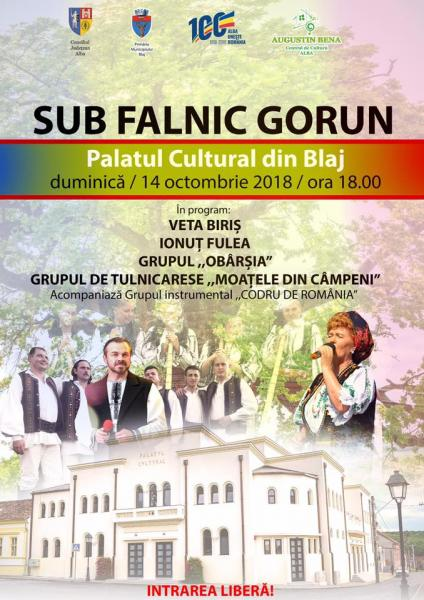 Spectacol folcloric de excepție la Blaj
