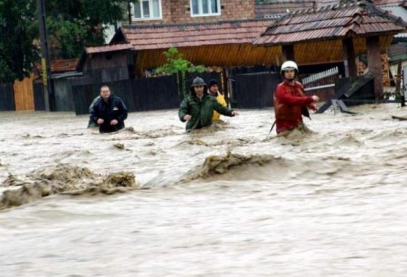 Atenționare COD GALBEN de inundații pentru județul Alba