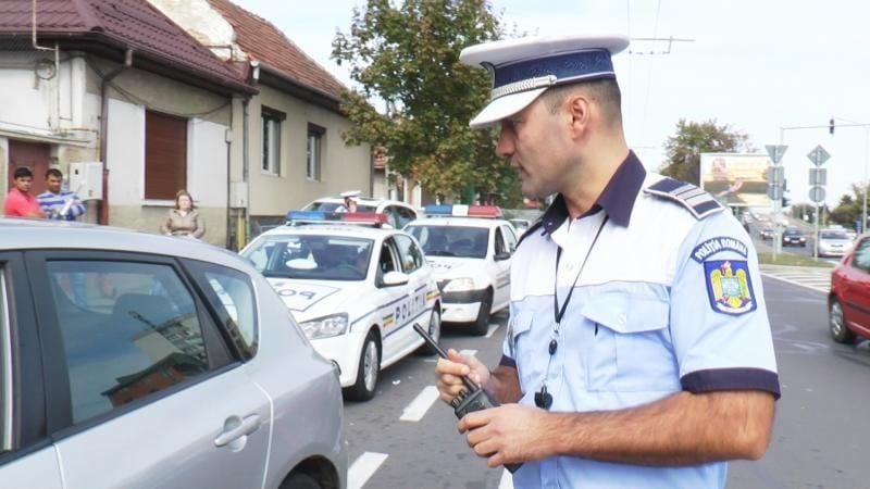 Razie de amploare a Poliției în Alba Iulia. Amenzi de 13.140 de lei într-o singură zi