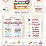 """20-21 octombrie,prima ediție a """"Târgului de povești pentru copii"""" la Alba Iulia"""