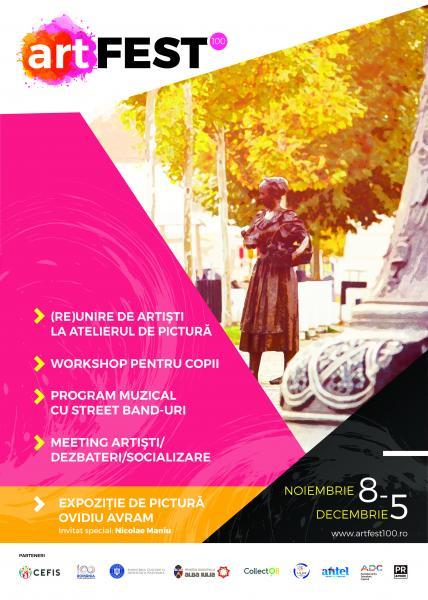 8-11 noiembrie: artFEST 100 –  Festival de artă în Alba Iulia
