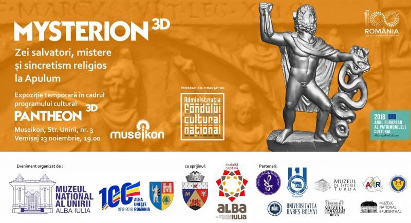 Alba Iulia – Expoziție 3 D la Muzeikon