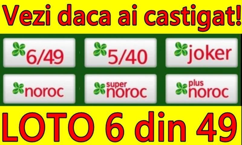 Numerele căștigătoare de la extragerile Loteriei Române din 18 noiembrie