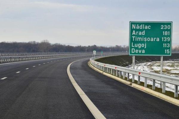 Circulația pe A1, între Șoimuș și Simeria a fost redeschisă
