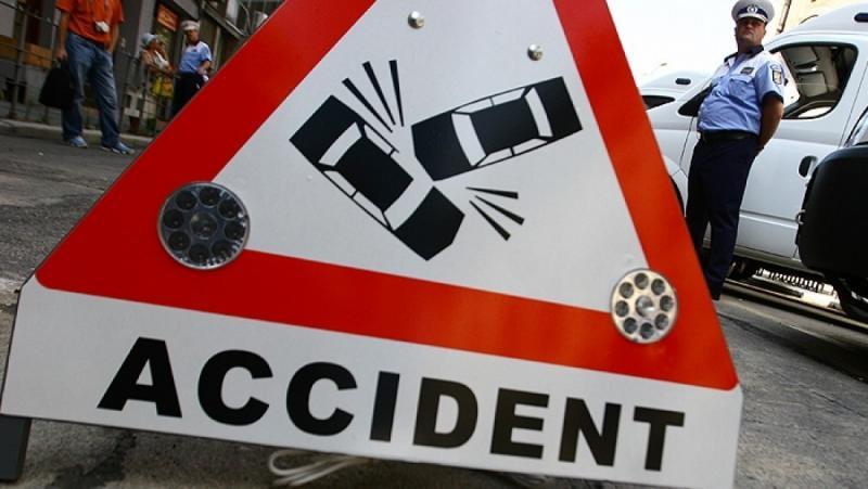 Accident cu doi răniți pe DN 7