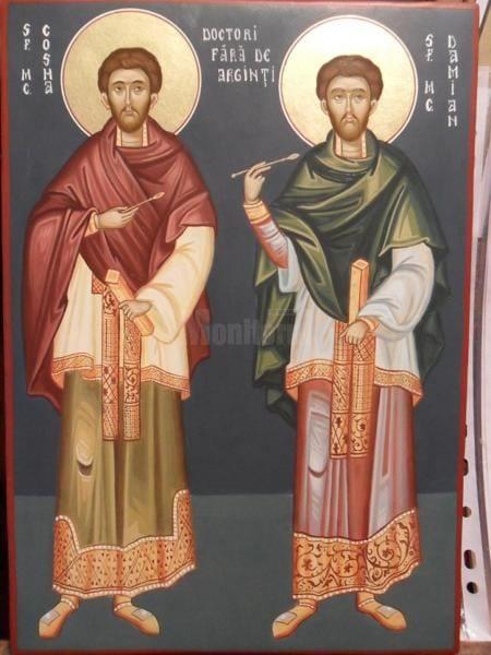 La 1 noiembrie, creștinii ortodocși îi sărbătoresc pe sfinții doctori fără arginți, Cosma și Damian